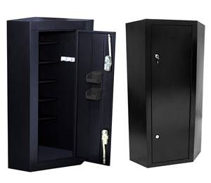 Homak, the best corner gun safe
