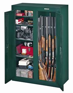 Double-Door Steel Security Cabinet