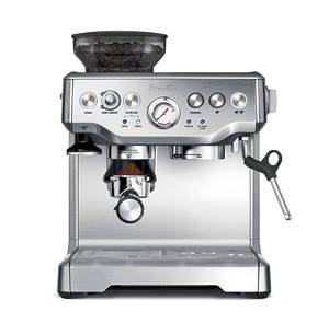 Breville BES870XL, best espresso machine under 1000