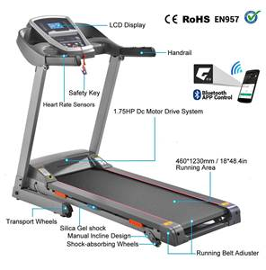 Miageek Folding Jogging Treadmill under $1000