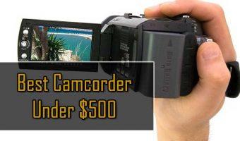 best camcorder under 500