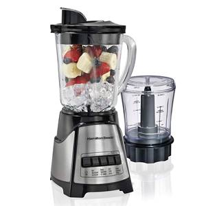 Hamilton Beach Power Elite Multi-Function 40 Oz Glass Jar Blender