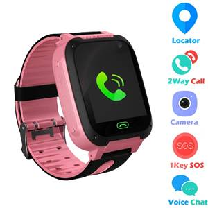 kids smart watch with LBS Tracker