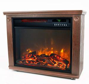 Lifesmart Large Room Infrared Fireplace