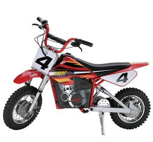 Razor MX500 dirt bike for ages 13 and older