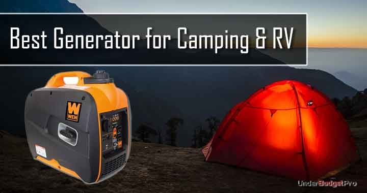 Best Generator for Camping & RV