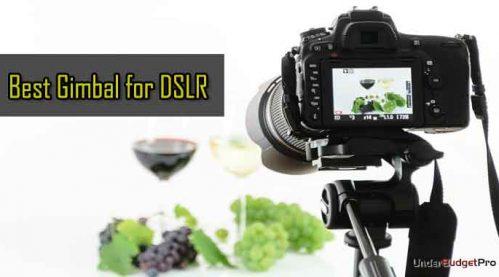 Gimbal Stabilizer for DSLR