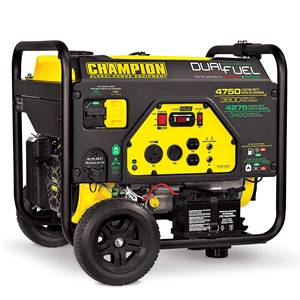 Champion Dual Fuel RV Ready Portable Generator