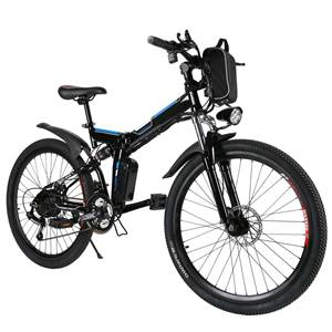 Kemanner Electric Foldable Mountain Bike