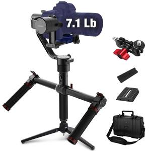 MOZA Air 3 Axis Handheld Gimbal Stabilizer with Dual Handle for DSLR Cameras