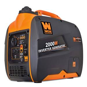 WEN 56200i Super Quiet 2000-Watt Portable Inverter Generator for Camping