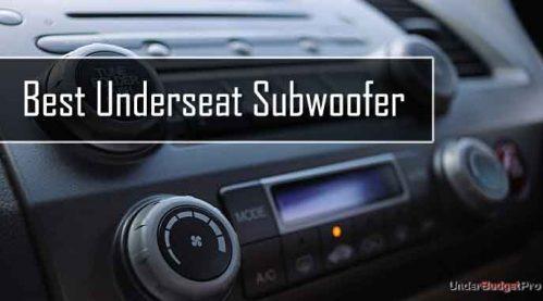 best underseat subwoofer