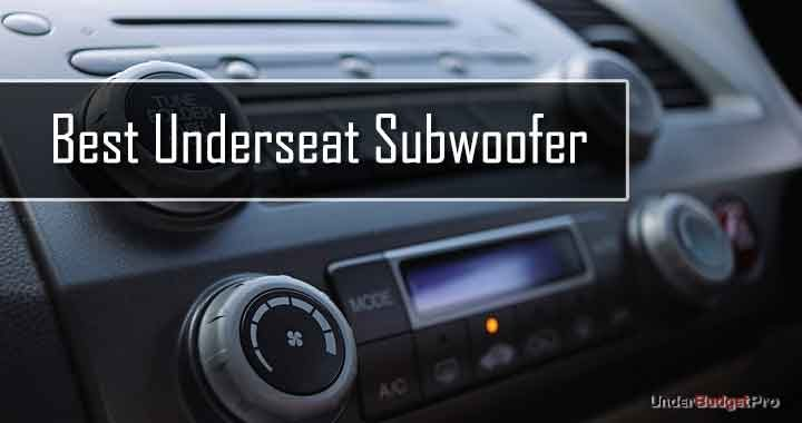 best underseat subwoofer reviews